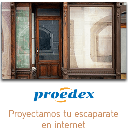 Proedex escaparate en internet